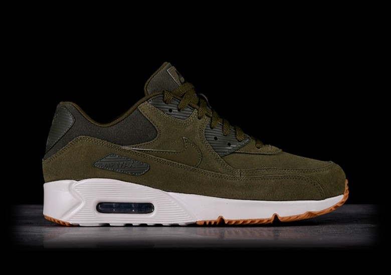 NIKE AIR MAX 90 ULTRA 2.0 LTR OLIVE CANVAS