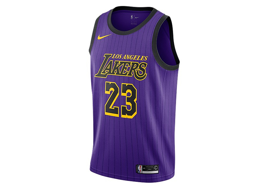 b06e830cb NIKE NBA LOS ANGELES LAKERS LEBRON JAMES SWINGMAN JERSEY FIELD ...