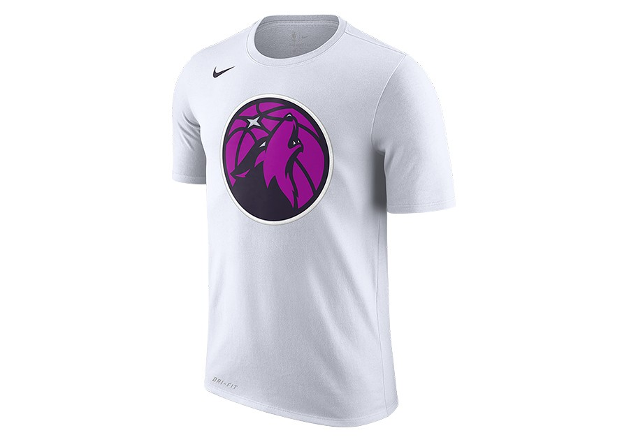 d5839eb5f15c NIKE NBA MINNESOTA TIMBERWOLVES DRY TEE WHITE price €32.50 ...