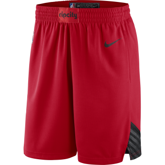 NIKE NBA PORTLAND TRAIL BLAZERS SWINGMAN SHORTS