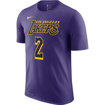NIKE NBA LONZO BALL LOS ANGELES LAKERS DRY TEE