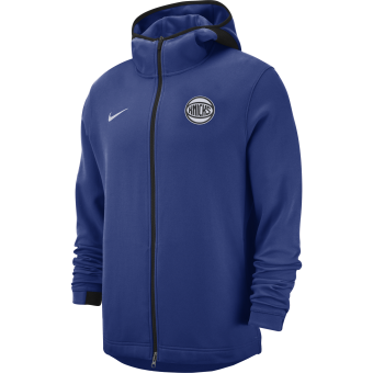 NIKE NBA NEW YORK KNICKS SHOWTIME DRY HOODIE