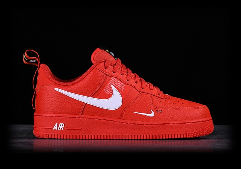 NIKE AIR FORCE 1 '07 LV8 UTILITY TEAM ORANGE