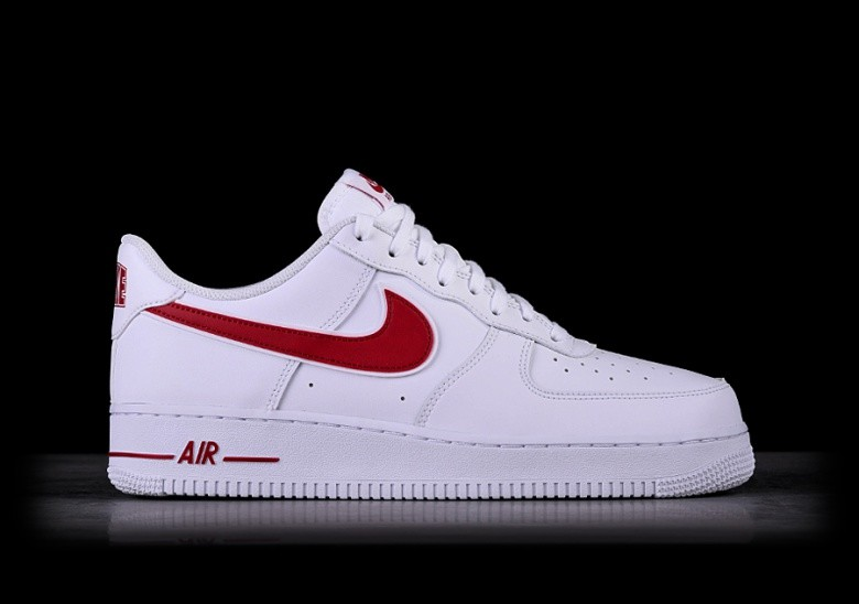 nike air force 1 07 3 red biały