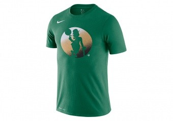 NIKE NBA BOSTON CELTICS LOGO DRY TEE CLOVER