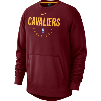 NIKE NBA CLEVELAND CAVALIERS SPOTLIGHT CREW HOODIE