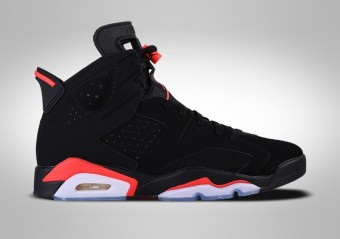 separation shoes 283c8 a1063 CHAUSSURES DE BASKET. NIKE AIR JORDAN 6 RETRO BLACK INFRARED