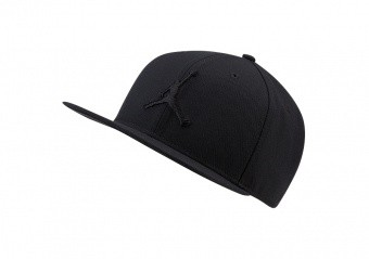 NIKE AIR JORDAN PRO JUMPMAN SNAPBACK BLACK