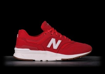 NEW BALANCE 997H TEAM RED WITH SEA SALT