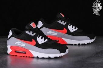 Nike Air Max 90 Essential AJ1285 012 Zwart Grijs Rood 40.5