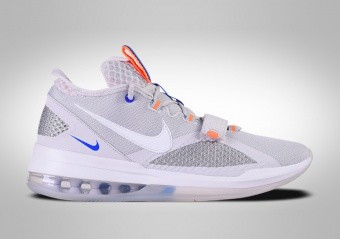 NIKE AIR FORCE MAX LOW WOLF GREY TOTAL ORANGE