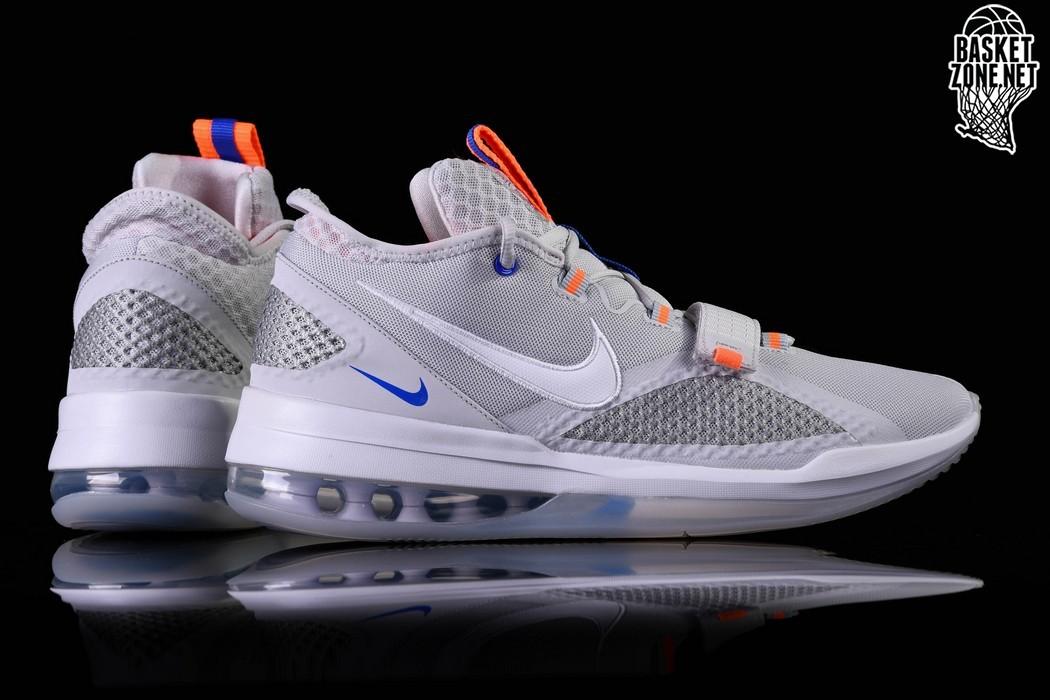 Nike Air Force Max Low Grey Total Orange BV0651 005 Release