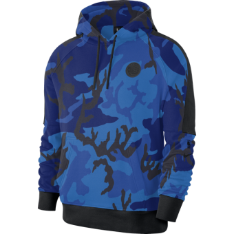NIKE NBA GOLDEN STATE WARRIORS COURTSIDE PULLOVER HOODIE