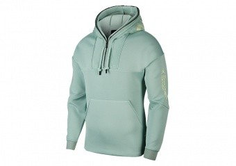 NIKE AIR JORDAN 23 ENGINEERED 1/2 ZIP HOODIE QUARTZ PATINA