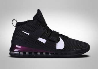 NIKE AIR FORCE MAX II BLACK PURPLE ANTHONY DAVIS