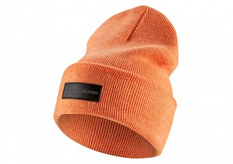 NIKE AIR JORDAN 23 ENGINEERED CUFFED BEANIE ORANGE TRANCE
