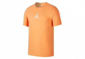 NIKE AIR JORDAN JUMPMAN CREW TEE ORANGE TRANCE