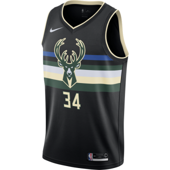 NIKE NBA MILWAUKEE BUCKS GIANNIS ANTETOKOUNMPO SWINGMAN JERSEY