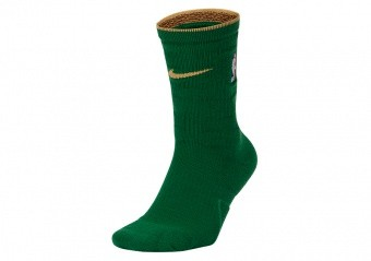NIKE NBA BOSTON CELTICS CITY EDITION SOCKS CLOVER