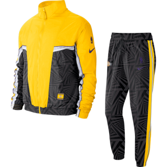 NIKE NBA LOS ANGELES LAKERS CITY EDITION COURTSIDE TRACKSUIT