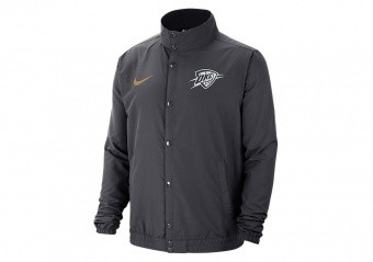 NIKE NBA OKLAHOMA CITY THUNDER JACKET ANTHRACITE