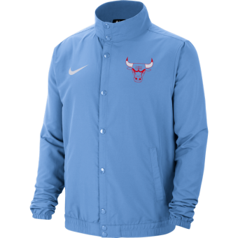NIKE NBA CHICAGO BULLS CITY EDITION LIGHTWEIGHT JACKET VALOR BLUE