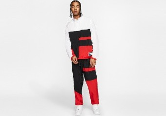 NIKE FLIGHT TRACKSUIT UNIVERSITY RED