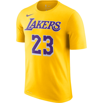 NIKE NBA LOS ANGELES LAKERS LEBRON JAMES DRY TEE