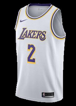 NIKE NBA LOS ANGELES LAKERS LONZO BALL SWINGMAN JERSEY