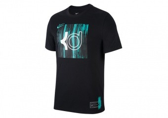NIKE KD LOGO DRI-FIT TEE BLACK