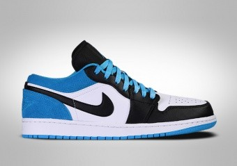 NIKE AIR JORDAN 1 RETRO LOW SE BLACK LASER BLUE