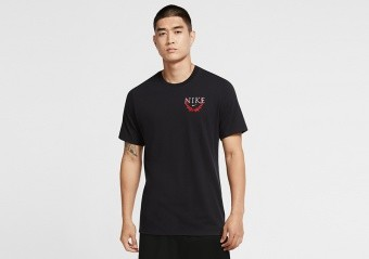 NIKE 'ENGINEERED FOR VICTORY' DRI-FIT TEE BLACK