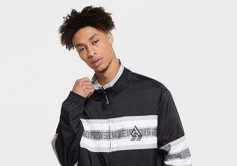 NIKE GIANNIS TRACK JACKET BLACK
