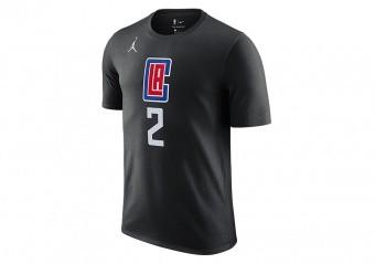 NIKE NBA LOS ANGELES CLIPPERS KAWHI LEONARD STATEMENT EDITION TEE BLACK