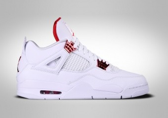 NIKE AIR JORDAN 4 RETRO METALLIC RED