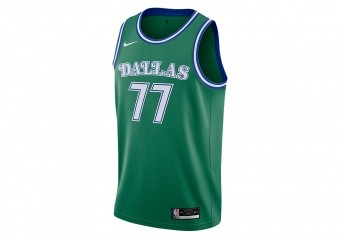 NIKE NBA DALLAS MAVERICKS LUKA DONČIĆ CLASSIC EDITION SWINGMAN JERSEY CLOVER