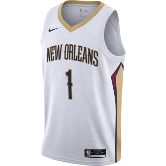 NIKE NBA NEW ORLEANS PELICANS ASSOCIATION EDITION SINGMAN JERSEY