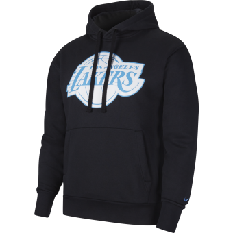 NIKE NBA LOS ANGELES LAKERS CITY EDITION LOGO PULLOVER FLEECE HOODIE