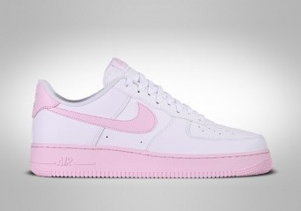 NIKE AIR FORCE 1 LOW '07 WHITE PINK FOAM