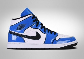 NIKE AIR JORDAN 1 RETRO MID SE SIGNAL BLUE