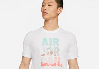 NIKE AIR JORDAN JUMPMAN CLASSICS GRAPHIC CREW TEE WHITE