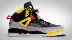 NIKE AIR JORDAN SPIZIKE 3M BLACK CHALLENGE RED YELLOW