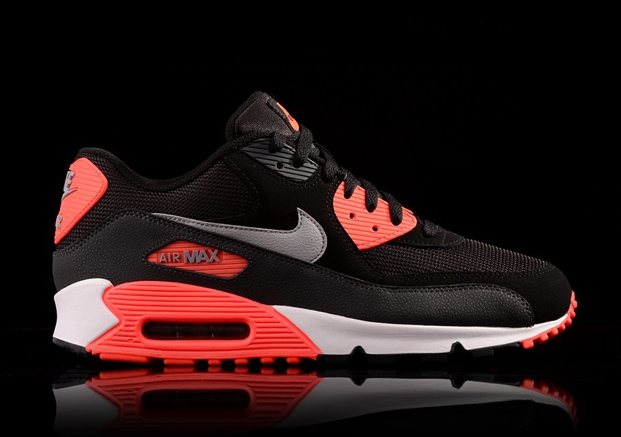 new style dfeef 9e581 NIKE AIR MAX 90 ESSENTIAL INFRARED BLACK