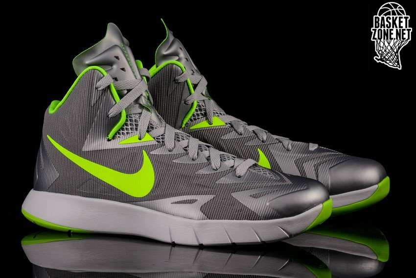 cheap for discount ebfdc a19f6 ... discount nike lunar hyperquickness cool grey electric green a1b04 44ab5