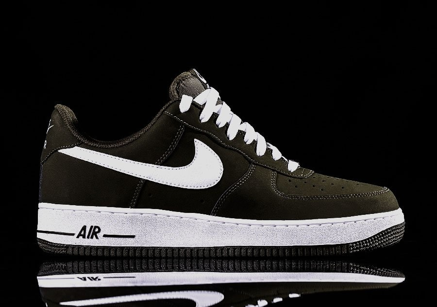 NIKE AIR FORCE 1 DARK LODEN GREEN