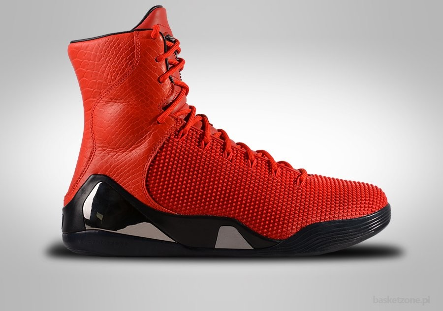 official photos 5c459 e5d2b NIKE KOBE 9 HIGH KRM EXT QS RED OCTOBER