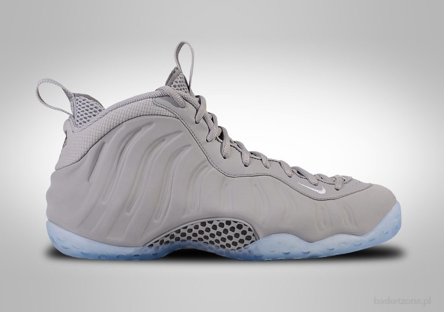 separation shoes ead21 561bf NIKE AIR FOAMPOSITE ONE PRM WOLF GREY SUEDE. 575420-007