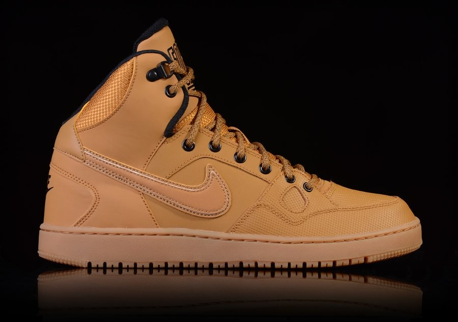 the latest a87b9 d0573 ... SHOE 4K  NIKE SON OF FORCE MID WINTER WHEAT-BLACK-GM LGHT BRWN ...